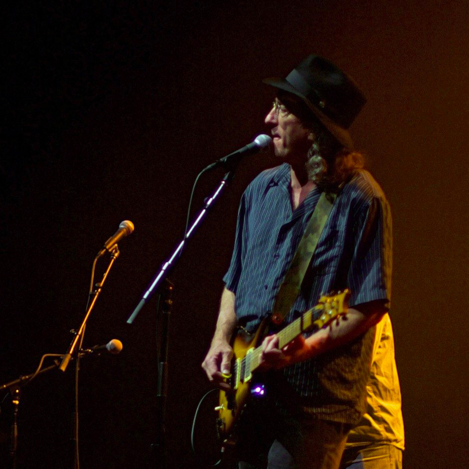 James McMurtry live onstage