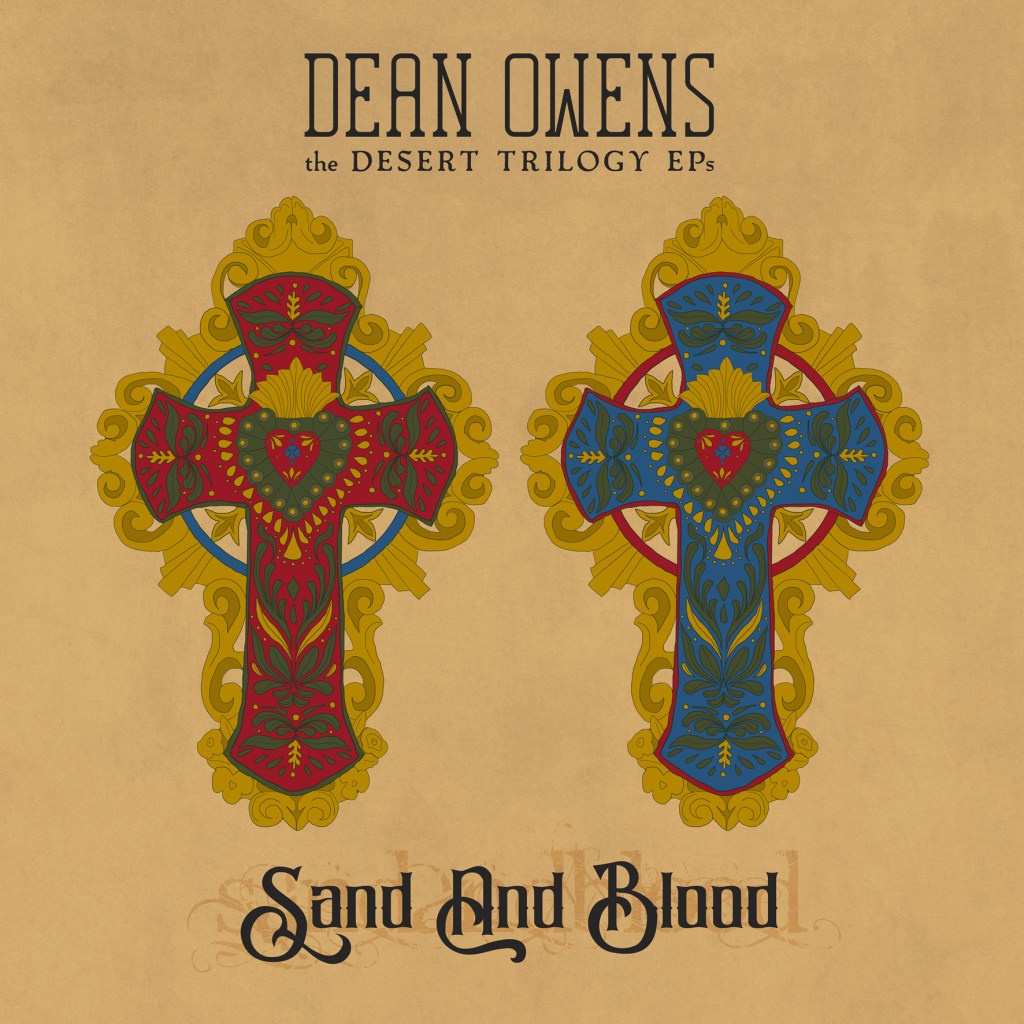 Dean Owens Sand and Blood album cover