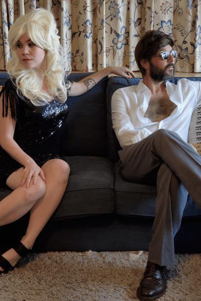 Scott Klopfenstein and Tahlena Chikami